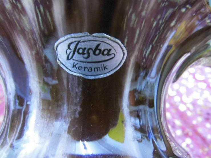 Bild 6: Keramikvase Jasba Keramik um 1970 / geflammt,
