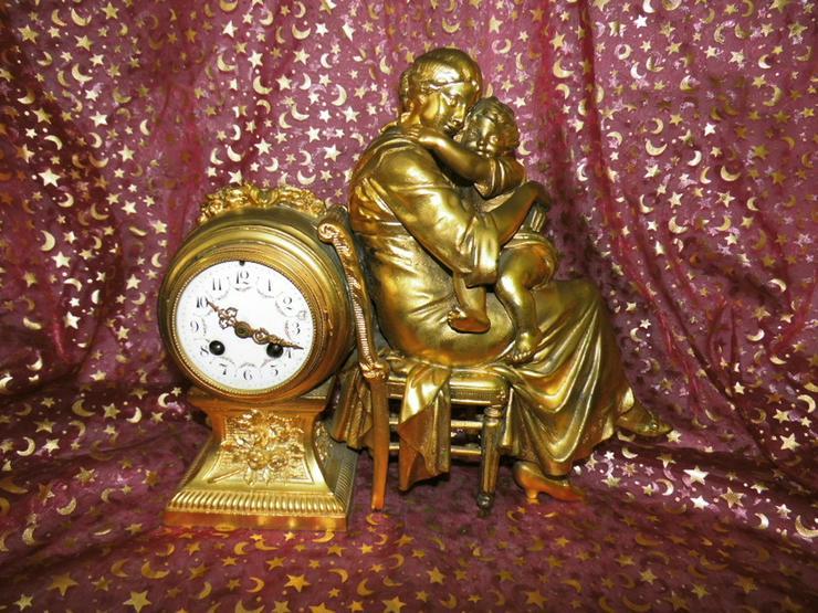 Antike Kaminuhr um 1890 / Japy freres & Cie / - Uhren - Bild 1