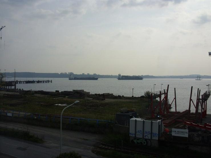 Fördeblick in Kiel-Friedrichsort