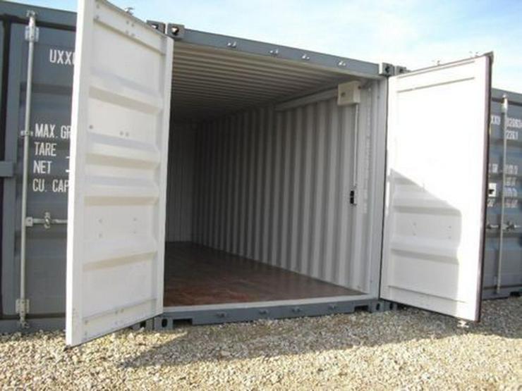 Lager-Garage-Contain?er-mit Licht und Strom