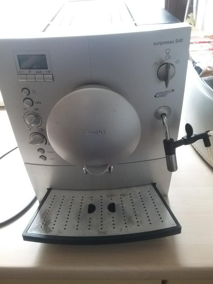 Kaffeevollautomat Siemens - Kaffeemaschinen - Bild 1