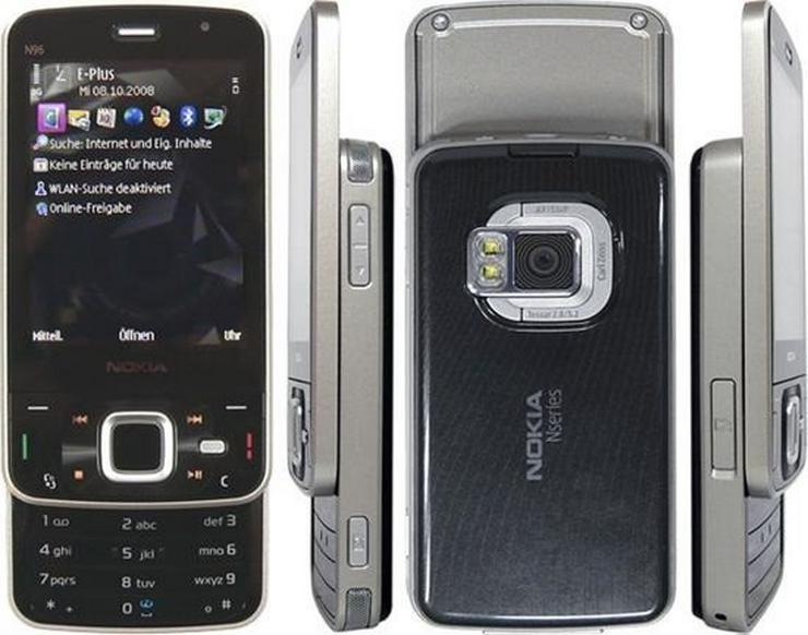 Nokia N96 Ohne SIM, mit Garantie - Handys & Smartphones - Bild 1