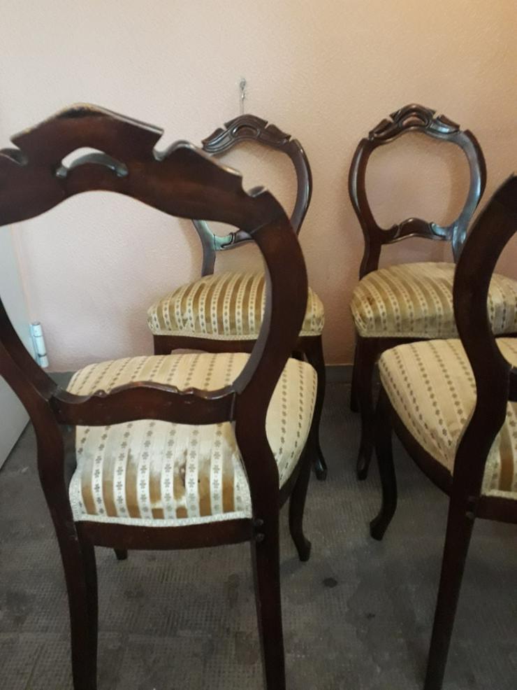 Bild 2: 4 antike Stuhle,nur fur selbstabholung