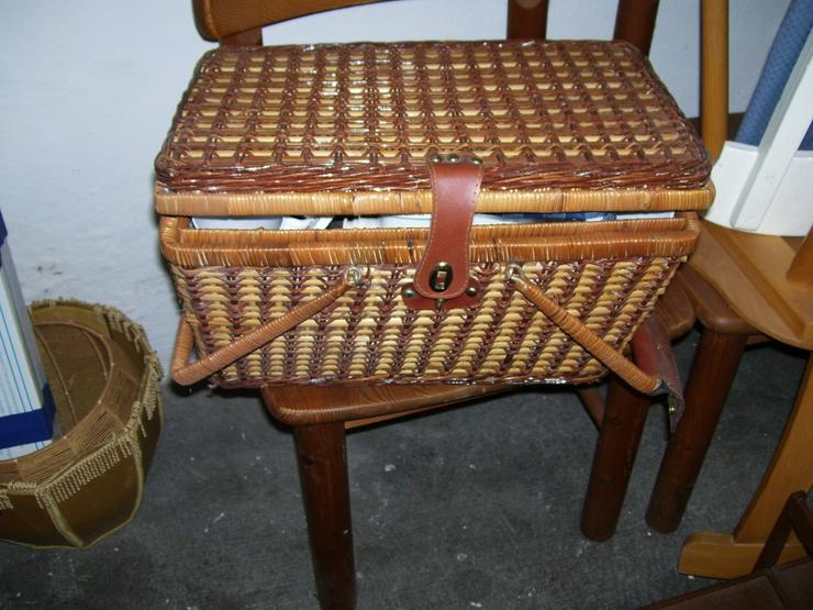 Orginal 50 Jahre Picknickkorb mit 4 Teil Servcf