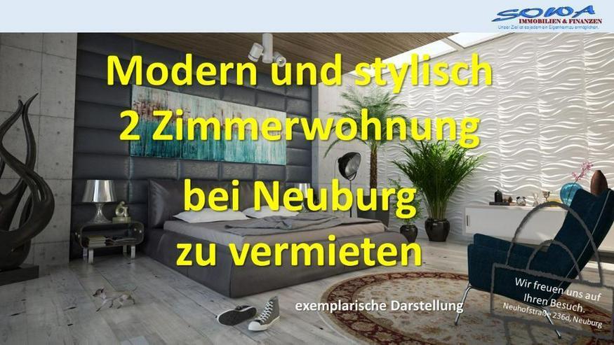 Modern und Stylisch - 2 Zimmerwohnung mit Stellplatz zu vermieten in ruhiger und exklusive... - Bild 1