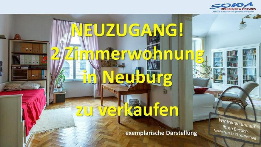 Neuzugang - 2 Zimmerwohnung mit Balkon in Neuburg an der Donau von ihrem Immobilienpartner... - Bild 1