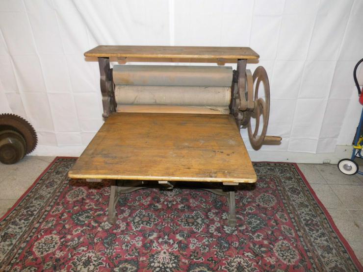 Antike Wäschemangel Hersteller Miele- Werke 19