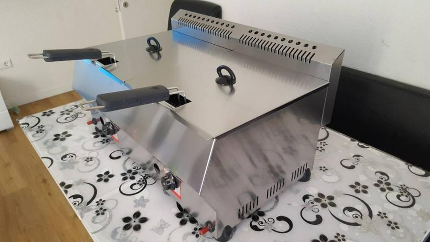 Friteuse Gas Doppelfriteuse 2x8L - weitere Küchenkleingeräte - Bild 5