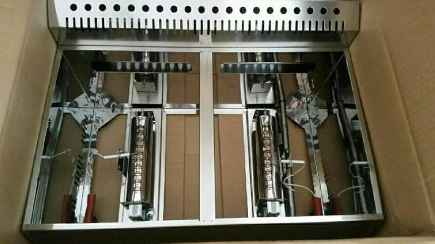 Bild 7: Friteuse Gas Doppelfriteuse 2x8L