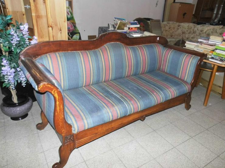 Antikes Biedermeier Sofa 1850 / antike Couch / - Stühle, Bänke & Sitzmöbel - Bild 1