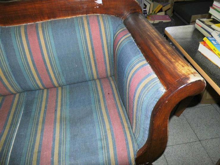 Bild 4: Antikes Biedermeier Sofa 1850 / antike Couch /