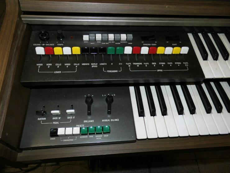 Bild 3: Heimorgel Yamaha B-20BR / Synthesizer / Keyboa