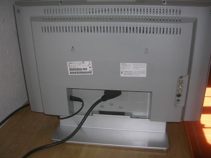 Bild 3: LCD Fernsehgerät Philips / Flat - TV u. Receiv.