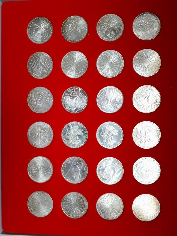 24 Olympiamünzen von 1972 - Bild 1