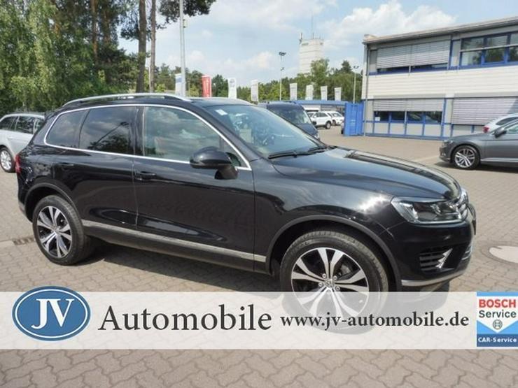 VW Touareg 3.0 TDI *EXCLUSIVE* AHK/PANO/20 ZOLL - Touareg - Bild 1