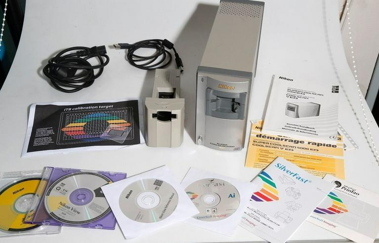 Nikon Super CoolScan 5000 ED Foto Filmscanner