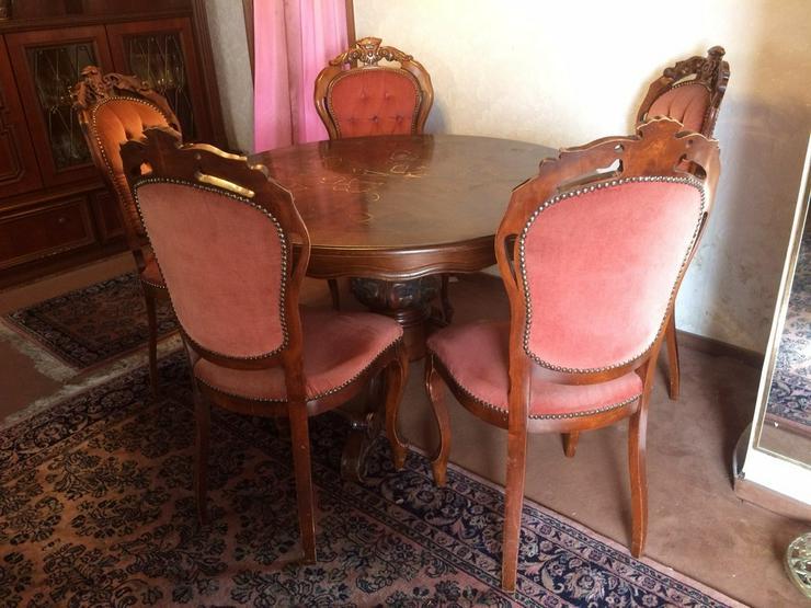 Esstisch mit 5 Stühlen zu  verkaufen