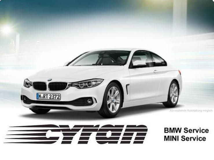 BMW 420d Coupe Aut. Xenon Navi AHK 18''M LM SHZ PDC - 4er Reihe - Bild 1