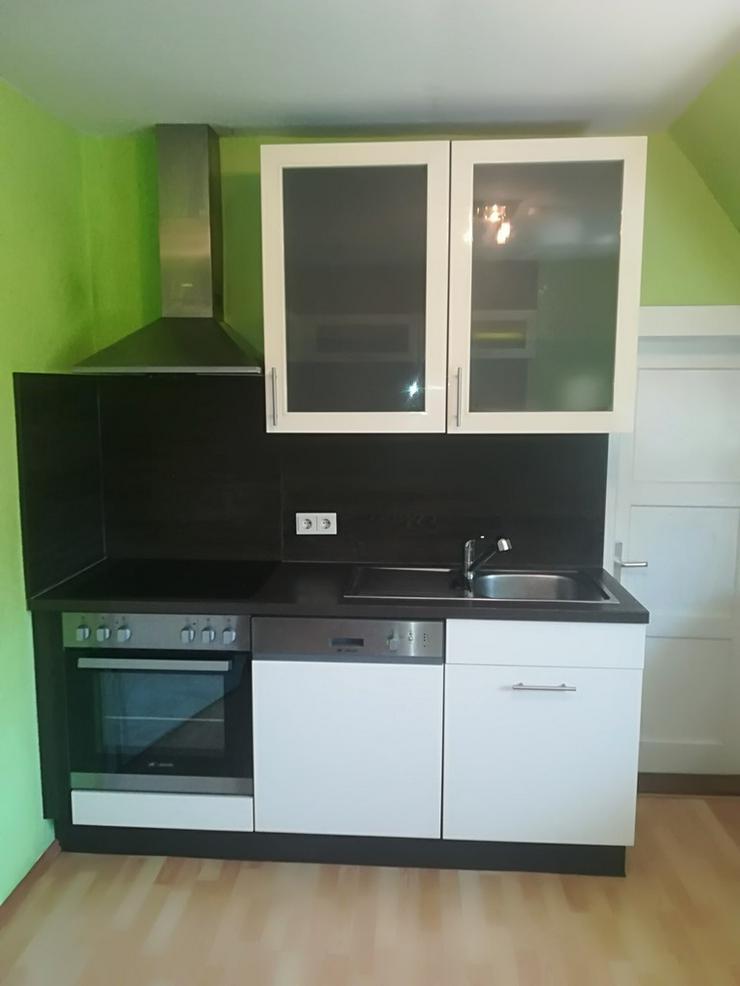 Küche mit Herd,Spülmaschine,Kühlschrank