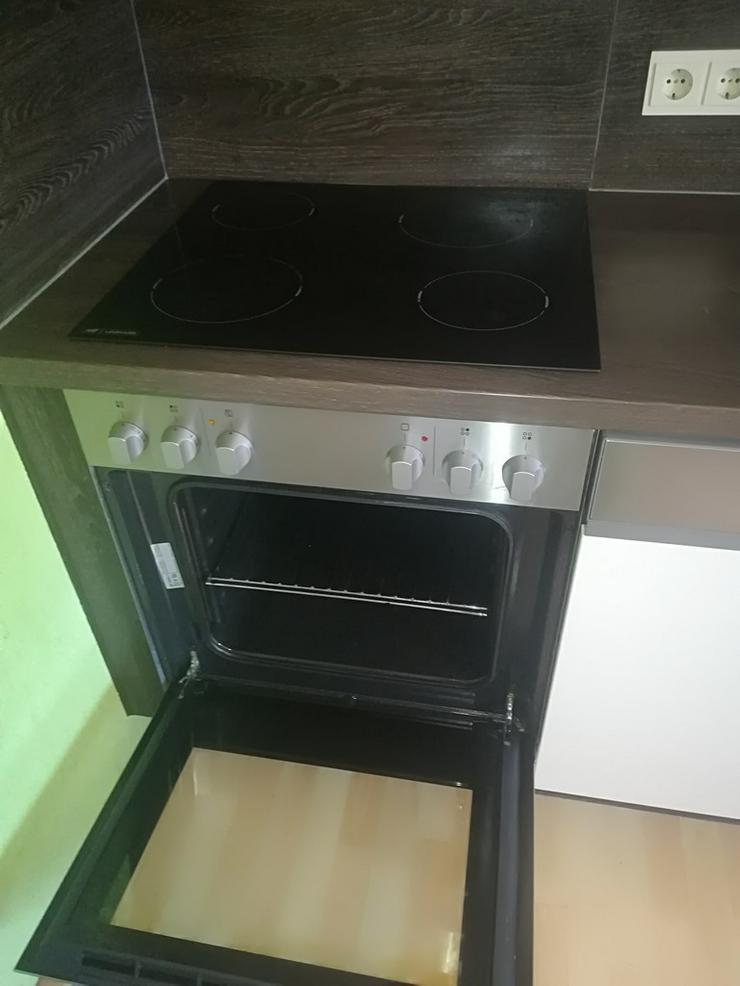 Bild 6: Küche mit Herd,Spülmaschine,Kühlschrank