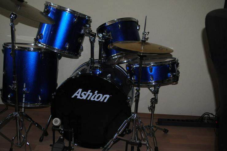 Bild 3: Das Schlagzeug