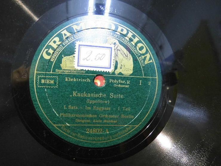 Bild 3: Antike Grammophon Schellackplatte Nr.24802, Ka