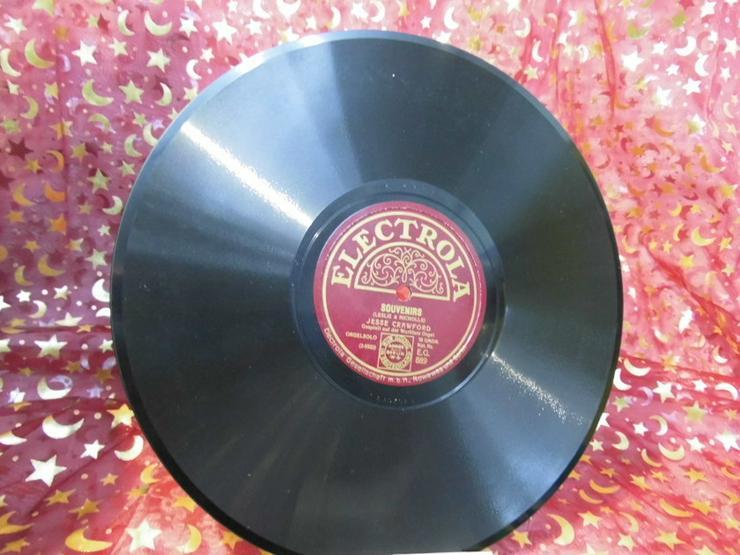 Antike Electrola Schellackplatte, Jesse Crawfo - LPs & Schallplatten - Bild 1
