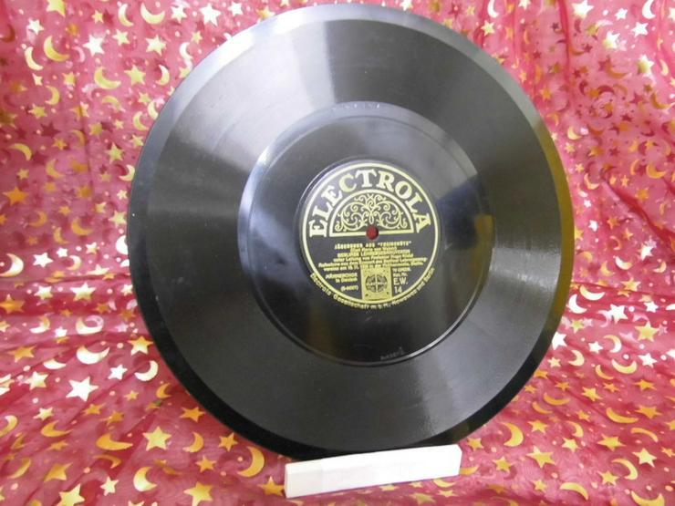 Alte Electrola Schellackplatte, Jägerchor aus - LPs & Schallplatten - Bild 1