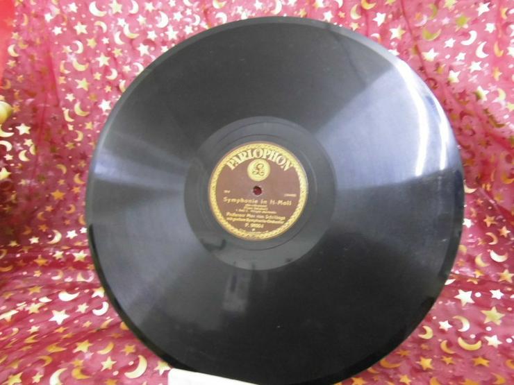 Alte Parlophon Schellackplatte, Symphonie in H - LPs & Schallplatten - Bild 1