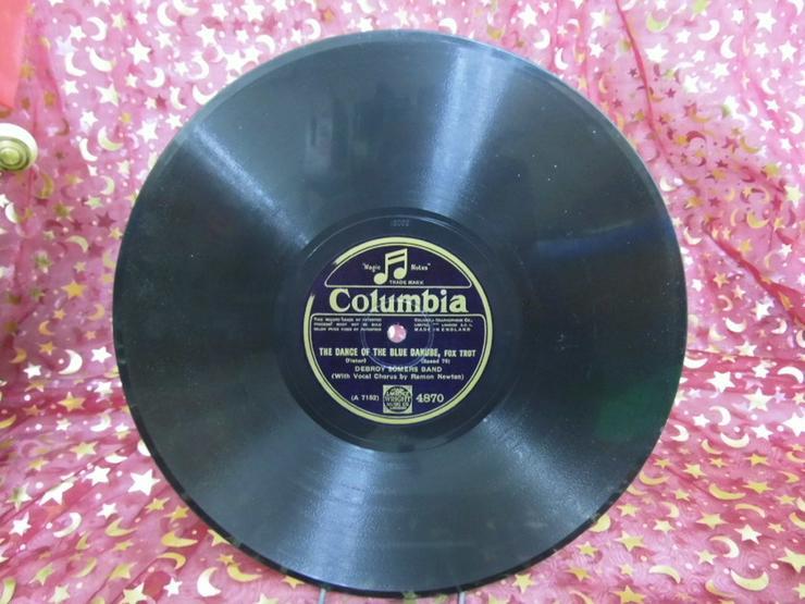 Alte Schellackplatte Columbia, Debroy Somers B - LPs & Schallplatten - Bild 1