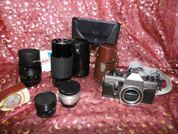Alte Fotoausrüstung ehem. DDR / Konvolut Kamer - Weitere - Bild 1