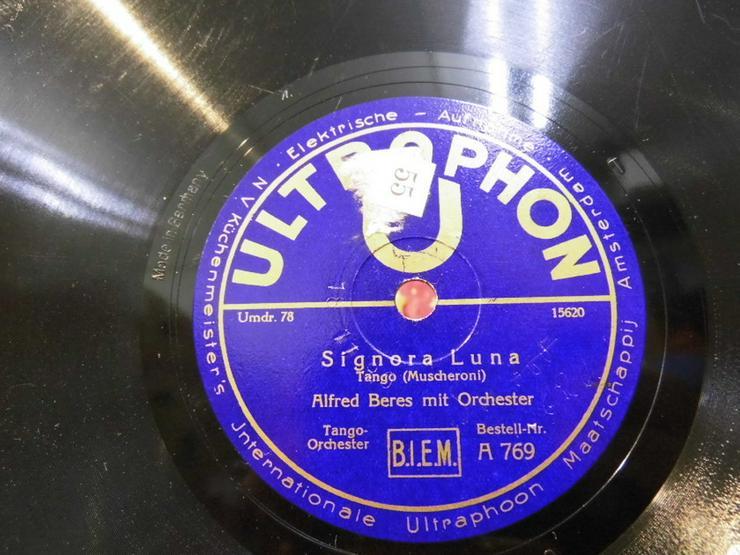 Bild 2: Alte Ultraphon Schellackplatte, Alfred Beres O