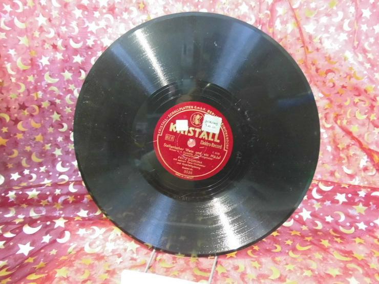 Alte Kristall Schellackplatte, Fritz Domina Or - LPs & Schallplatten - Bild 1
