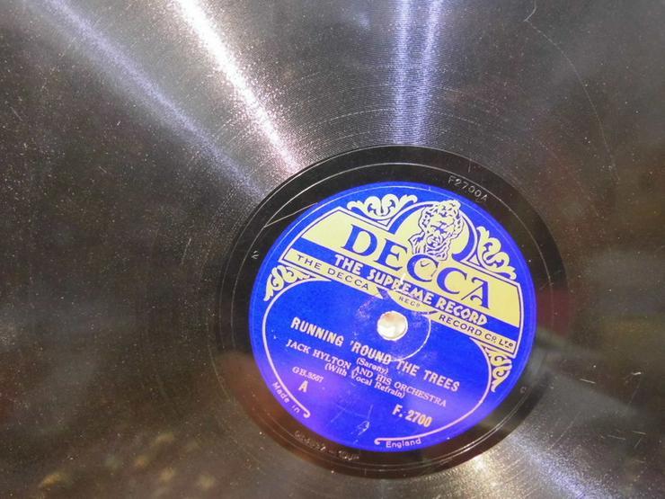 Bild 2: Decca Schellackplatte, Jack Hylton / Running