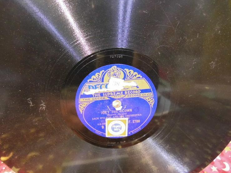 Bild 3: Decca Schellackplatte, Jack Hylton / Running