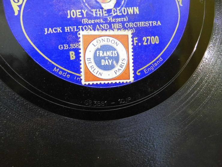 Bild 4: Decca Schellackplatte, Jack Hylton / Running