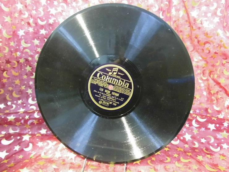 Alte Columbia France Schellackplatte, M. Jean - LPs & Schallplatten - Bild 1