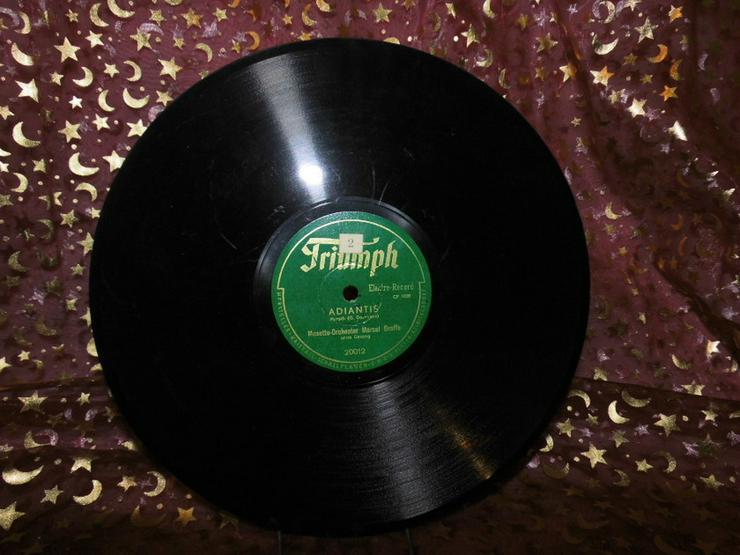 Triumph Schellackplatte, Musette-Orchester Mar - LPs & Schallplatten - Bild 1
