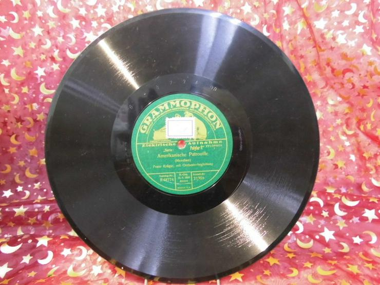 Schellackplatte, Franz Krüger / Amerikanische - LPs & Schallplatten - Bild 1