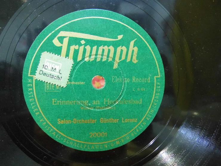 Triumph Schellackplatte, Salon-Orchester G. Lo - LPs & Schallplatten - Bild 1