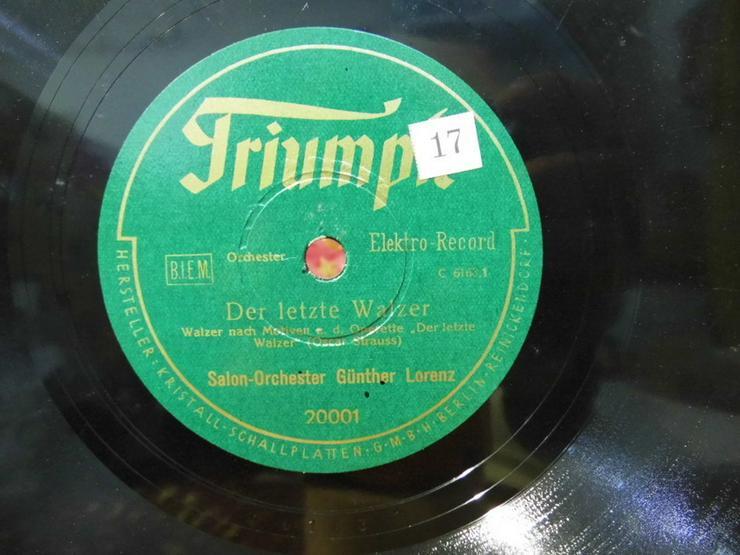 Bild 3: Triumph Schellackplatte, Salon-Orchester G. Lo