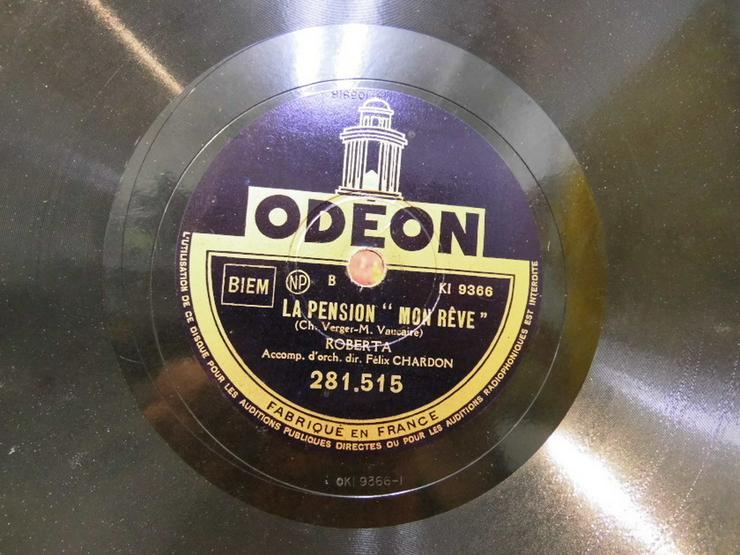Alte Odeon Schellackplatte, Roberta / Je ne T? - LPs & Schallplatten - Bild 1