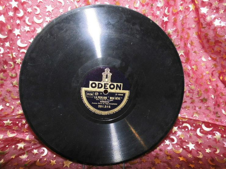 Bild 2: Alte Odeon Schellackplatte, Roberta / Je ne T?