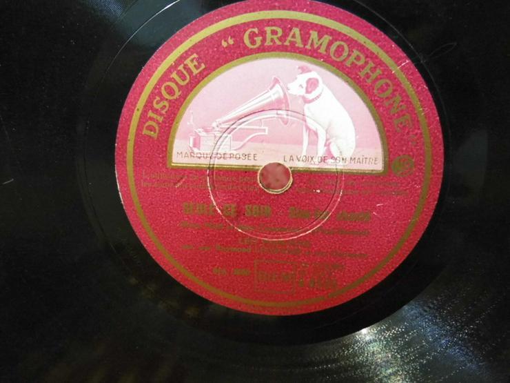 Gramophone Schellackplatte, Leo Marjane / Le r - LPs & Schallplatten - Bild 1
