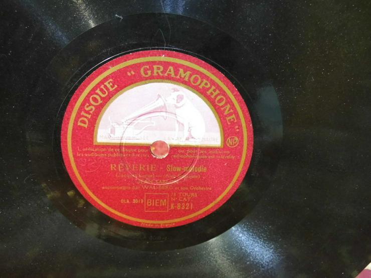 Gramophone Schellackplatte, Jean Sablon / Rive - LPs & Schallplatten - Bild 1