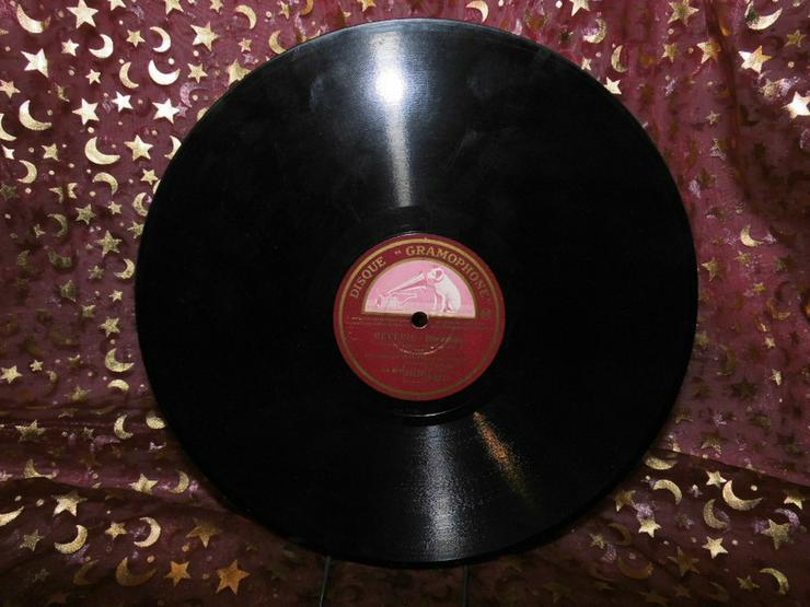 Bild 2: Gramophone Schellackplatte, Jean Sablon / Rive