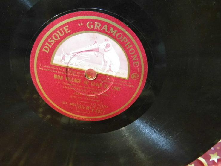 Bild 3: Gramophone Schellackplatte, Jean Sablon / Rive