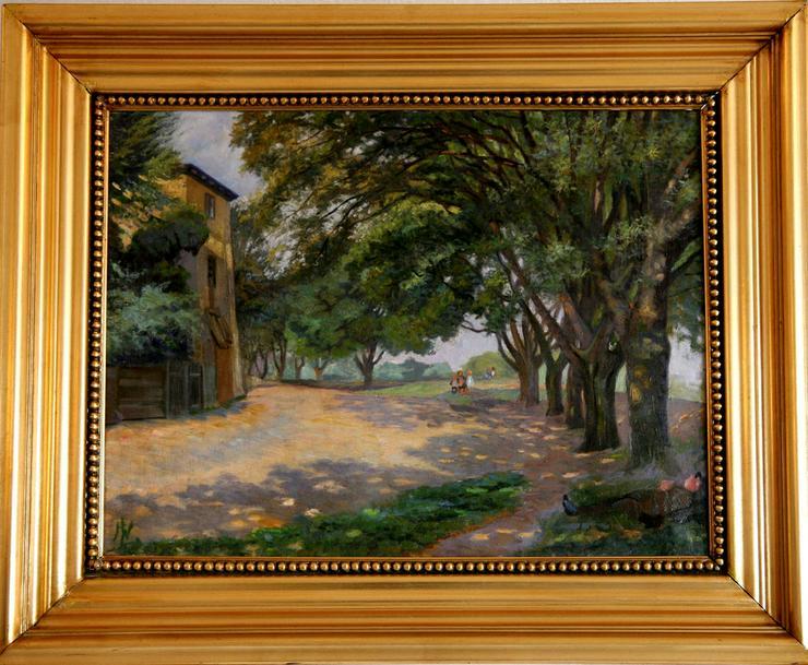 NIKOLAUS LÜTZHÖFT (1864), Park in Italien! - Gemälde & Zeichnungen - Bild 1