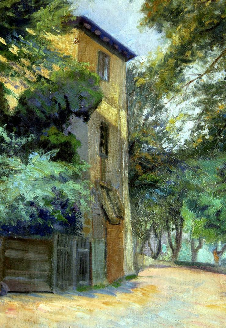 Bild 3: NIKOLAUS LÜTZHÖFT (1864), Park in Italien!