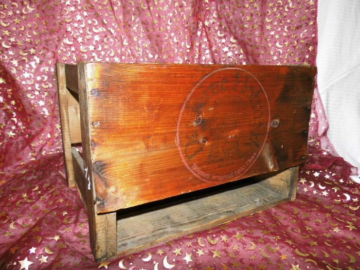 Antike Holz - Bierkiste, Holzkiste, alter Bier - Weitere - Bild 1